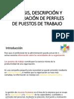 1análisis Descripción y Elaboración de Perfiles De
