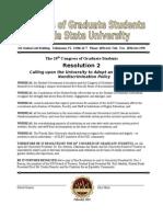 18th Congress,Resolution 2, Non-Discrimination Policy
