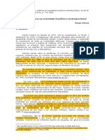 Adorno - Crime, Violência, Sociedade Brasileira Contemporânea, 2002