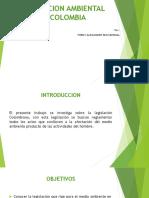 Legislacion Ambiental en Colombia