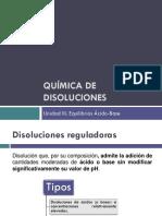 Unidad III-Disoluciones Reguladoras