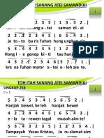 Ungkup 258 - Toh Itah Sanang Atei Samandiai