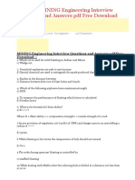 @100 TOP MINING Engineering Interview Questions Answers