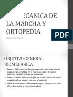 1° Clase de Biomecanica y Ortopedia