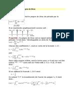 3Cas Particulier Fct Peigne Dirac