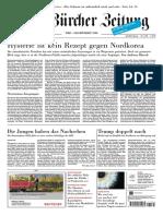 Gesamtausgabe Neue Zürcher Zeitung 2017-08-12