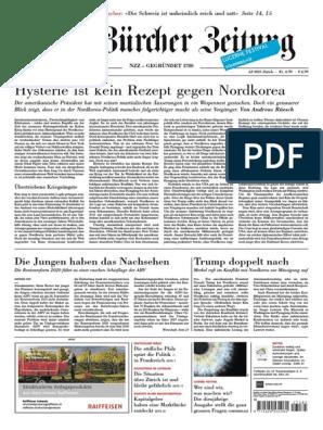 Gesamtausgabe Neue Zürcher Zeitung 2017 08 12 Sicilian