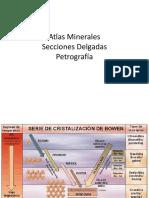 Atlas Minerales - Petrografía