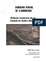 Relleno Sanitario de Bahía Blanca (Argentina)