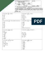 Evaluación Nm2 Racionalizacion FB