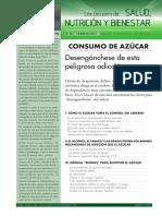 5 FEBRERO 2017 Dossier Salud Nutricion Bienestar Consumo Azucar