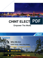 CHINT T&D PPT 2017