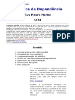 Dialética Da Dependência - Ruy Mauro Marini - Exp. Popular