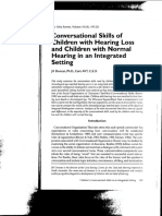 Tema12 Conversational Skills of Children With HL and Children With Normal Hearing