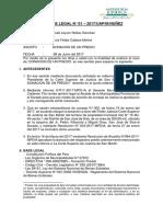 Cinecia Politica Informe Legal