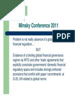 "Roadmap to ""global economic governance"" institutions, circa 2011."