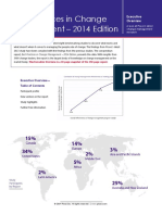Prosci 2014 Best Practices Executive Overview