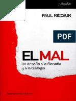 Ricoeur Paul - El mal. Un desafio a la filosofia y teologia.pdf