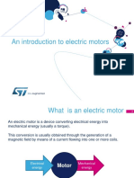 An Introduction to Electric Motors