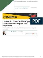 Artigo Do Filme a Meta