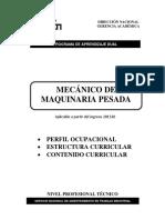 Mecánico de Maquinaria Pesada 201520