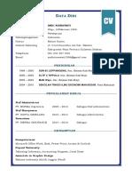 10 Contoh CV (Daftar Riwayat Hidup) Terbaru Format Word 2016.docx