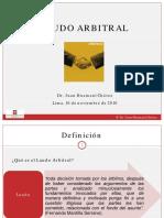 Laudo Arbitral y Ejecución Juan Huamaní Chávez