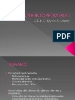 Introduccion Odontopediatria I