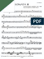 Rossini - Sonata III (Contrabbasso)
