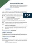 Manual Brazo Faro Modificado