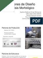 Patrones de Diseño Análisis Morfológico[1]
