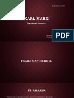 Karl Marx - Los Manuscritos Del 44