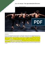 Poéticas de La Danza y El Cuerpo