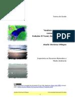 Análisis temporal de la comunidad íctica del Embalse El Tunal, Salta, Argentina. 2005.