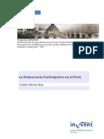 Democracia Participativa en El Peru