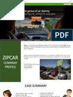 Zipcars Final