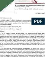TSJ Galantine -Garantia de Imparcialidad -Audiencia 210 CPP -Comentario -R