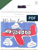 Love Field Mailer