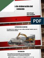 Proceso de Elaboracion Cemento