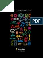 Cerrejon Informe Sostenibilidad 2012