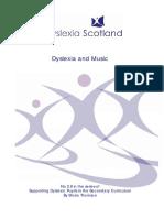Dislexia and Music
