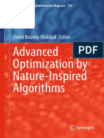 Advanced Optimization by Nature-Inspired Algorithms 1st Ed. 2018 Edition