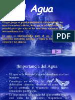 CLASE 1 EL AGUA