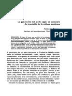 La generación de medio siglo. Armando Pereira..pdf
