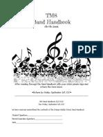 tms band handbook 2016-2017-2