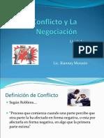3.5 El Conflicto y La Negociaci+¦n