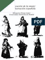 Ortega López, La Educación de La Mujer Ilustrada