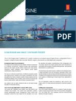 K-Sim Engine MAK43C Container Feeder M11 Model Datasheet