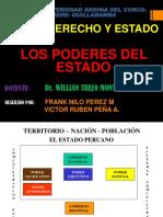 Diapositiva de Los Poderes Del Estado Peruano Ok