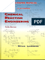Chemical Reaction Engineering Levenspiel Solution Manual 3rd Edition